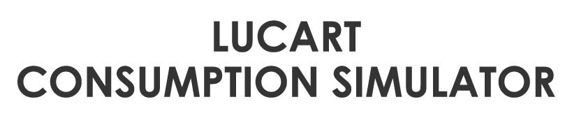 Lucart Consumption Simulator
